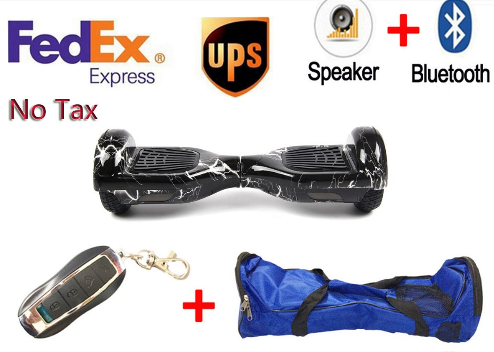 Hot popular FashionTwo wheel Electric scooter Bluetooth+Bag+Remote Hoverboard Electric Unicycle Skateboard Standing Drift Board<br><br>Aliexpress