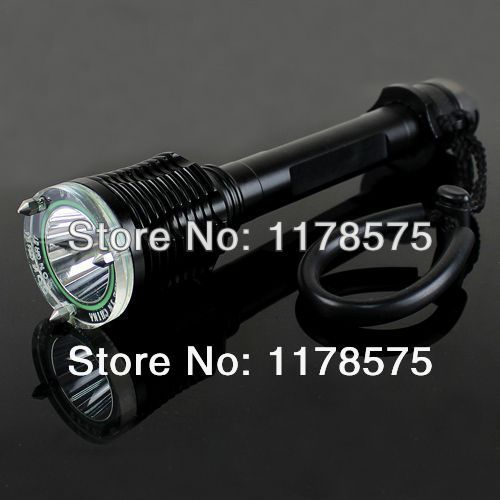 Free Shipping 1800LM CREE XM-L T6 LED Knife Lifesaving Hammer Arm Band Diving Torch Flashlight---FL03081(China (Mainland))