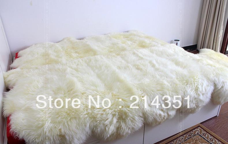 10P Sheepskin Rug 220 220cm Area Rug For Home Decor Ikea Fur Rugs And Carpets