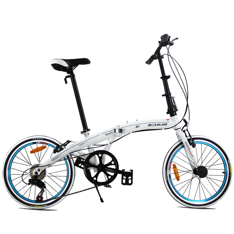 The High Quality 20 Inches Folding Bike with the Bilateral Pedal for Men and Women(China (Mainland))