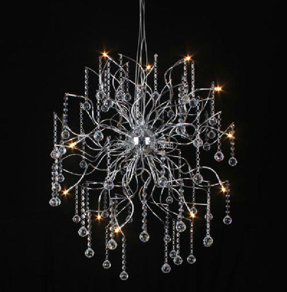 modern luxury crystal chandelier indoor led chandeliers lights hotel store lustres de sala. Black Bedroom Furniture Sets. Home Design Ideas