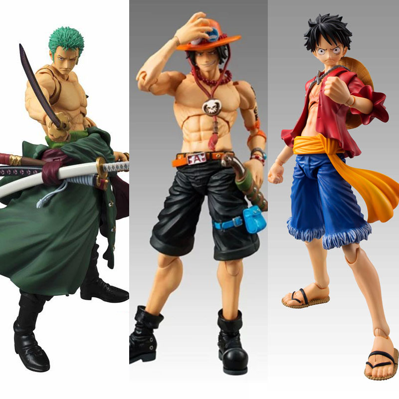 New Anime Figures One Piece MegaHouse POP VAH Variable Monkey D LUFFY PVC Ace zoro Action Figure Collectible Model Toy Onepiece(China (Mainland))