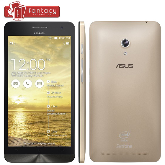 """Stock For Original ASUS Zenfone 6 Intel Atom Z2580 Dual Core 2.0GHz WCDMA 3G Android 4.3 6.0"""" 1280*720P 2GB RAM 13.0MP Phone(China (Mainland))"""