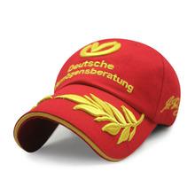 World Champion formula 1 Moto GP Schumacher Baseball cap snapback hat sports cap motorcycle cap racing Cap men(China (Mainland))