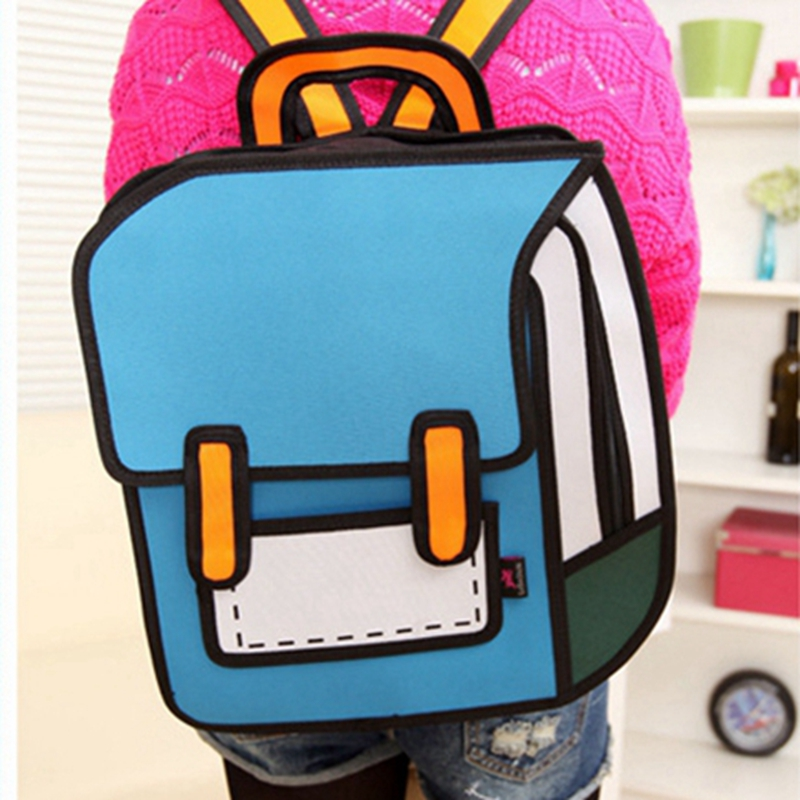 2015 Funny Novelty school bags for girls cute backpack Women Backpack Casual backpacks for teenage girls mochilas feminina L334<br><br>Aliexpress