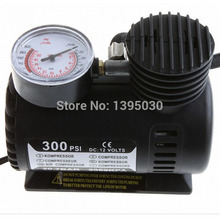 Free Shipping By DHL 40pcs/Lot12V Car Auto Electric Pump Air Compressor Portable Tire Inflator 300PSI K590