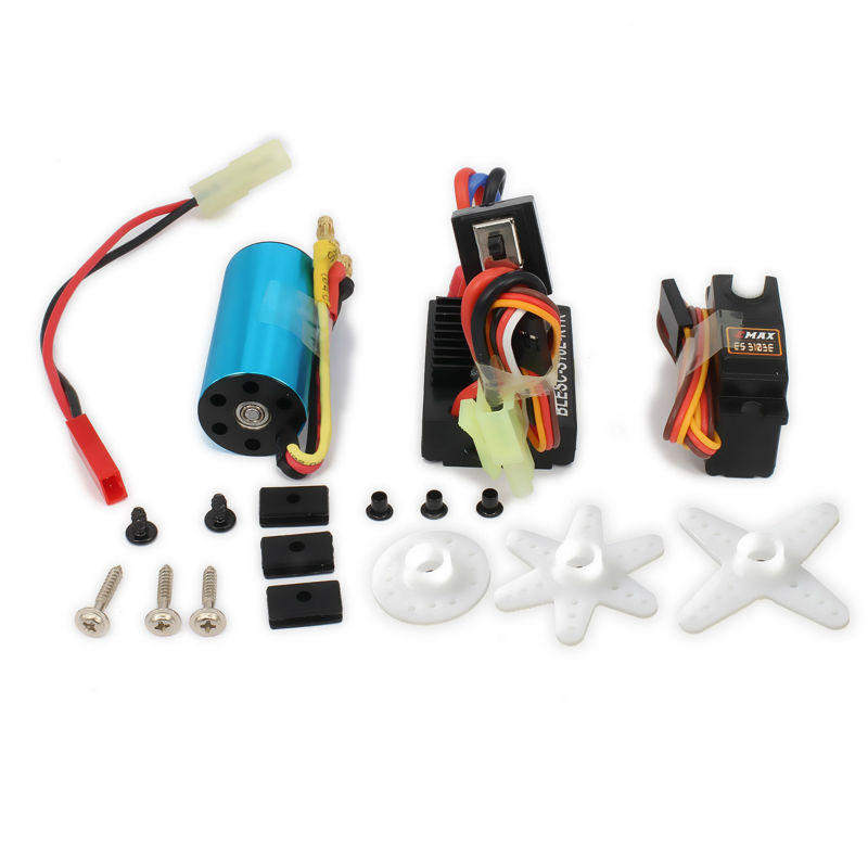 17g Servo + Kv4800 Brushless Motor Speed Controller ESC For Rc Car Airplane Boat Aquacraft Edf Hsp Wltoys A959 A969 A979 K929(China (Mainland))