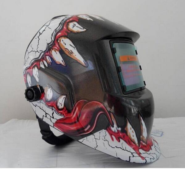 Dinosaur decals welding protective masks welding helmet big window(China (Mainland))