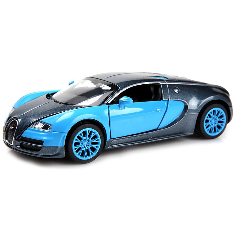 Hot Sale New Collectible Model Cars Bugatti Veyron Model Car 1:32 Alloy Diecast Mini Model Cars New Electronic Car(China (Mainland))