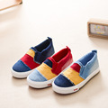 2016 Spring New Children Shoes Boys and girls Canvas Shoes Child Casual Fashion Shoes Spell Color