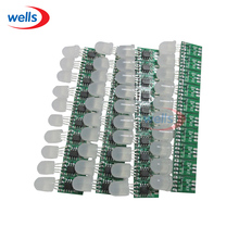 50x 12mm DC5V WS2801 Pixel Module Without Wire Non-waterproof Addressable Color(China (Mainland))