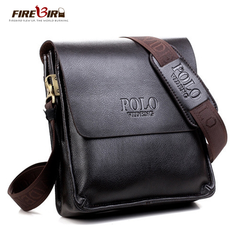 Firebird! Polo brand leather man bag designs, new business men leather messenger bag, men's cross-body bags FB2061(China (Mainland))