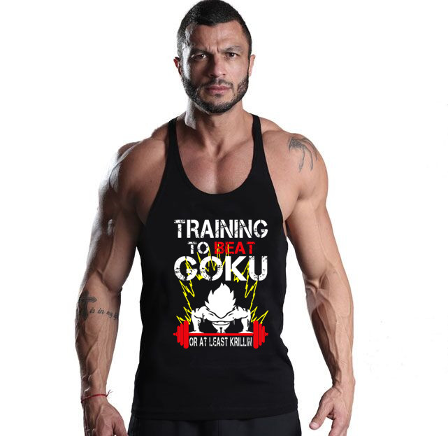 Men tank tops Bodybuilding gym clothing gym shark Cotton men tank tops Bodybuilding stringer basketball jersey Gym Tops & Tees(China (Mainland))