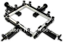 FAST Free shipping Manual screen printing stretcher for silk screen printing T-shirt printer equipment machine press