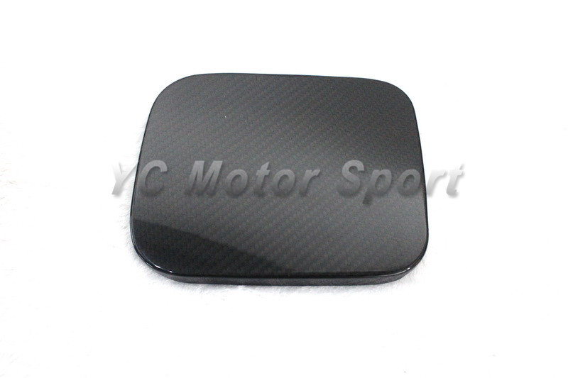 Фотография Dry Carbon Fiber DCF Fuel Cap Cover Fit For 2002-2009 Toyota WISH