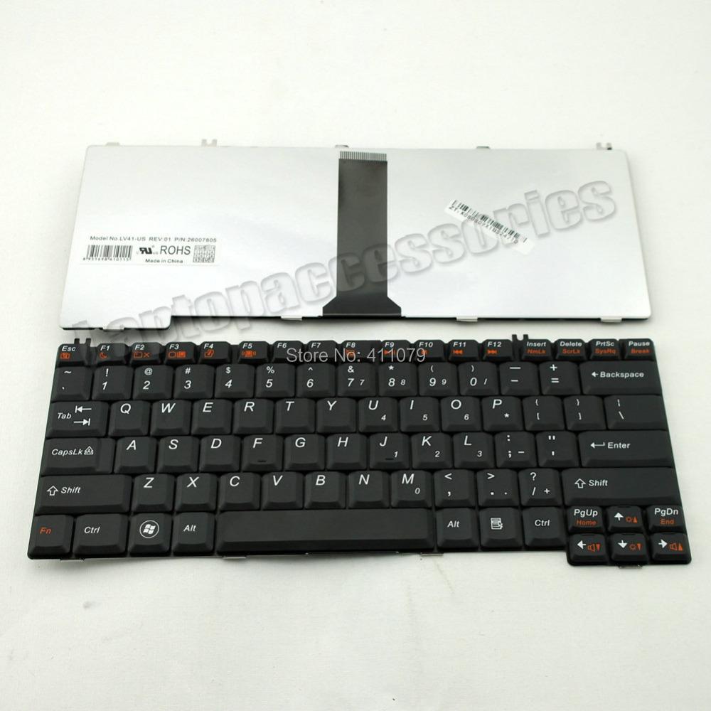 New For IBM Lenovo G450M G430M G450A G430LE Black Laptop US Keyboard Teclado (K164)(China (Mainland))