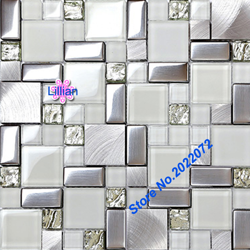 Online kopen wholesale metallic bathroom tiles uit china metallic bathroom tiles groothandel - Badkamer deco ideeen ...