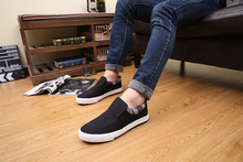 2015 spring and autumn New England men s casual shoes low to help canvas shoes factory
