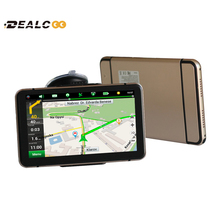 New 7 inch HD Car GPS Navigation navigator FM wince 6.0 Russia/Belarus/USA+Canada full Europe map Truck vehicle gps 4G/8GB