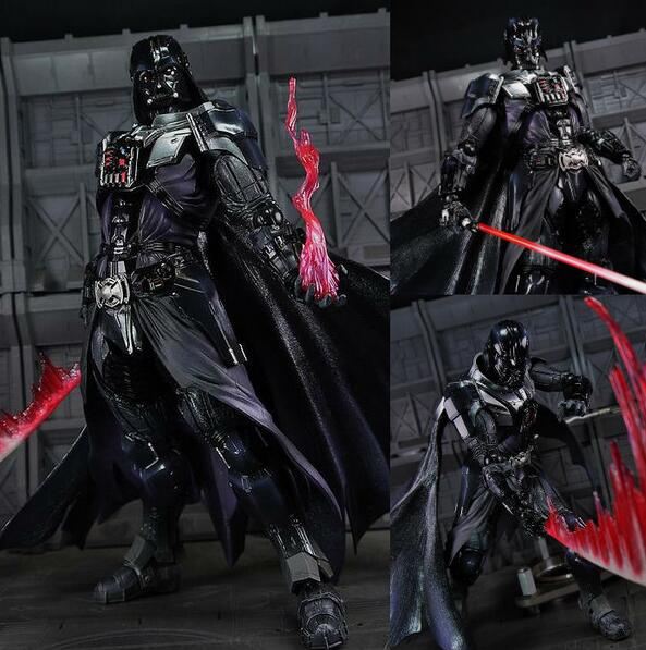 No toys, No childhood. Anime Action Star Wars JEDI KNIGHT Darth Vader Figure hand to do Model Toys PVC Collection Gift<br><br>Aliexpress