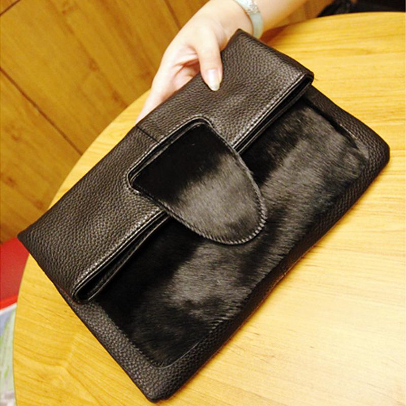 free shipping genuine leather womens handbag horsehair leopard print messenger bag shoulder bag handbag womens<br><br>Aliexpress