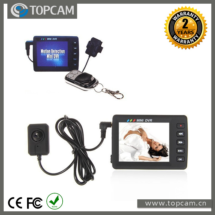 """KS-750A 2.5"""" Angel Eye Covert Video Recording System Button DVR Video Recorder Small CAMERA(China (Mainland))"""