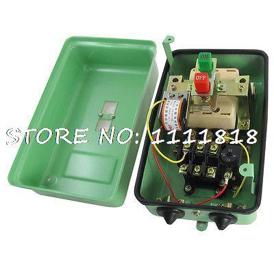 Фотография 14-22A 10KW 13.4 HP 120-430V Shunt Coil Trip Motor Protection Starter 3 Pole