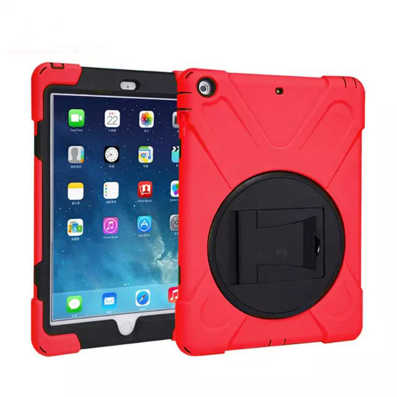 Shockproof Drop resistance Heavy Duty Tablets Case iPad Air Silicone Hard Cover Kickstand Apple 5 - Sor E-commerce store