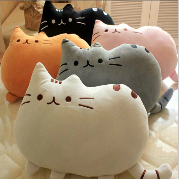 Cute Animal Shaped Pillows : Aliexpress.com : Buy 2015 Kawaii Biscuits cats 40*30cm Cute Stuffed Animal Plush Toys Dolls ...