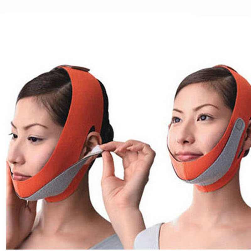 1Pcs  New Women beauty health care thin face mask slimming facial thin masseter double chin skin care face bandage massager<br><br>Aliexpress