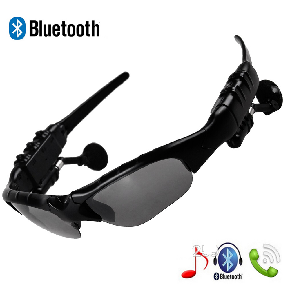 Fashion Sports Stereo Sunglasses Wireless Bluetooth 4.0 Headset Telephone Polarized Driving Sunglasses/mp3 Riding Eyes Glasses(China (Mainland))
