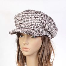 Маленькая газетчик цоколь комфортно дышащая шляпа для художник женщины леди осенью и зимой на открытом воздухе 56 58 60 см A1H101