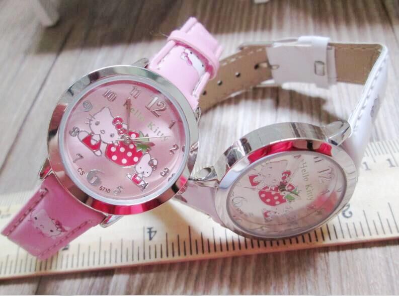 Free Shipping 30Pcs/lot ,Hello Kitty Children Gift,Quartz Wrist Hello kitty Watch Christmas Gift Watch <br><br>Aliexpress