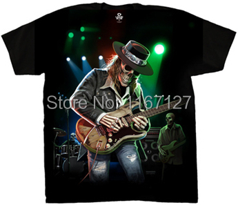 2014 new mens custom t shirts Texas Blues cool rock funny t-shirts high quality cotton fashion casual man clothing free shipping(China (Mainland))