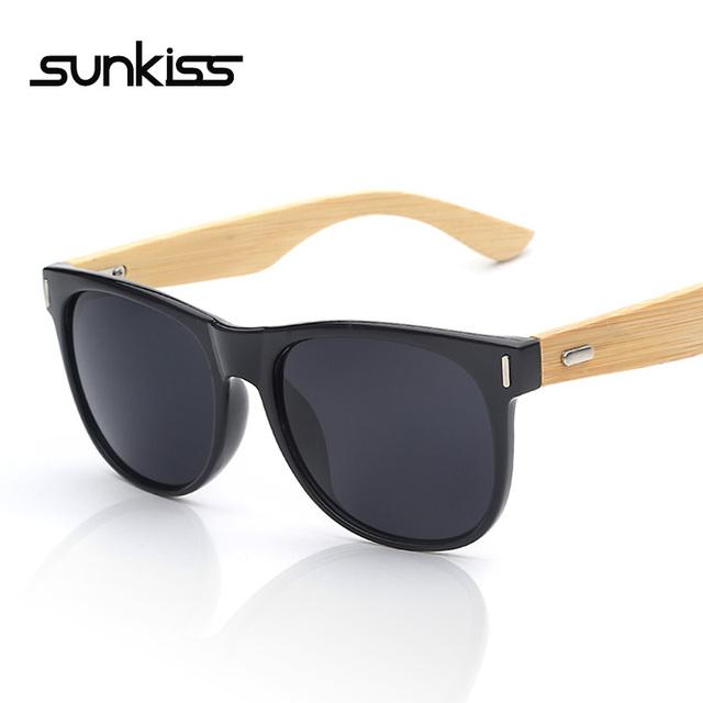 2015 новые люди бамбукового солнцезащитные очки металлический ногтей майки-мастер ...
