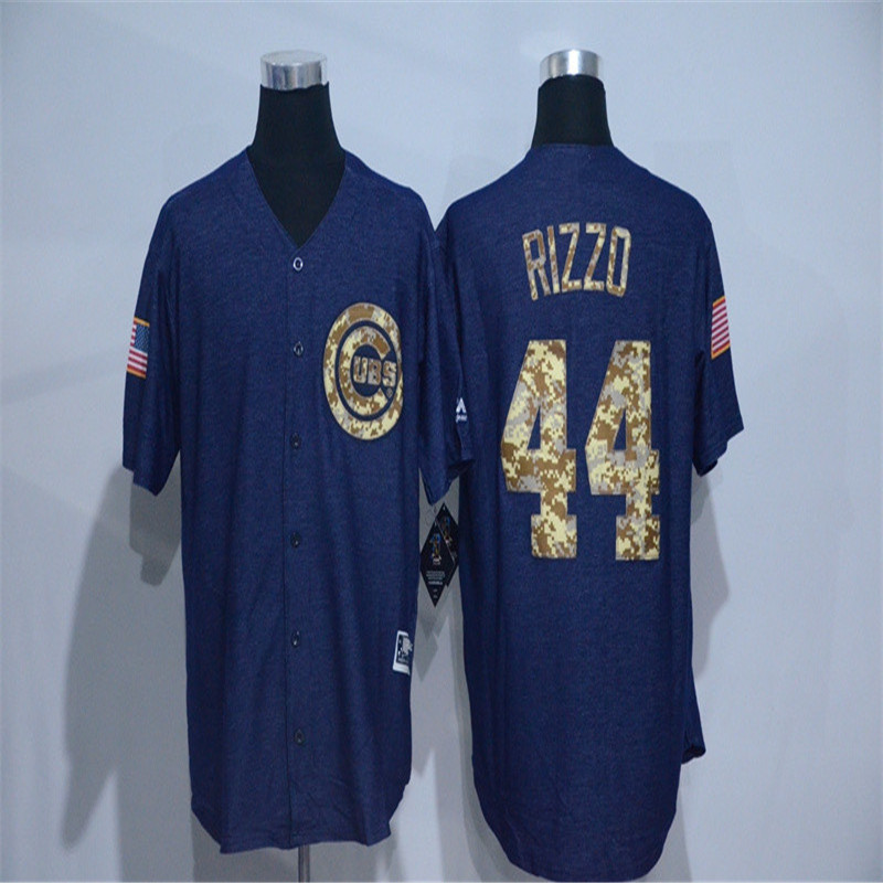 2016 new Cowboy Edition Men's 44 anthony rizzo Cub throwback Jersey baseball Jerseys Quick delivery(China (Mainland))