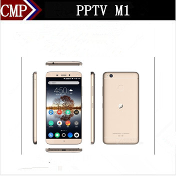 "Original PPTV M1 4G LTE Mobile Phone Octa Core Android 5.0 5.5"" FHD 1920X1080 3GB RAM 32GB ROM 13.0MP 5000mAh Fingerprint Type C(China (Mainland))"
