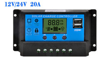 Solar charge controller 20A With Dual USB Output