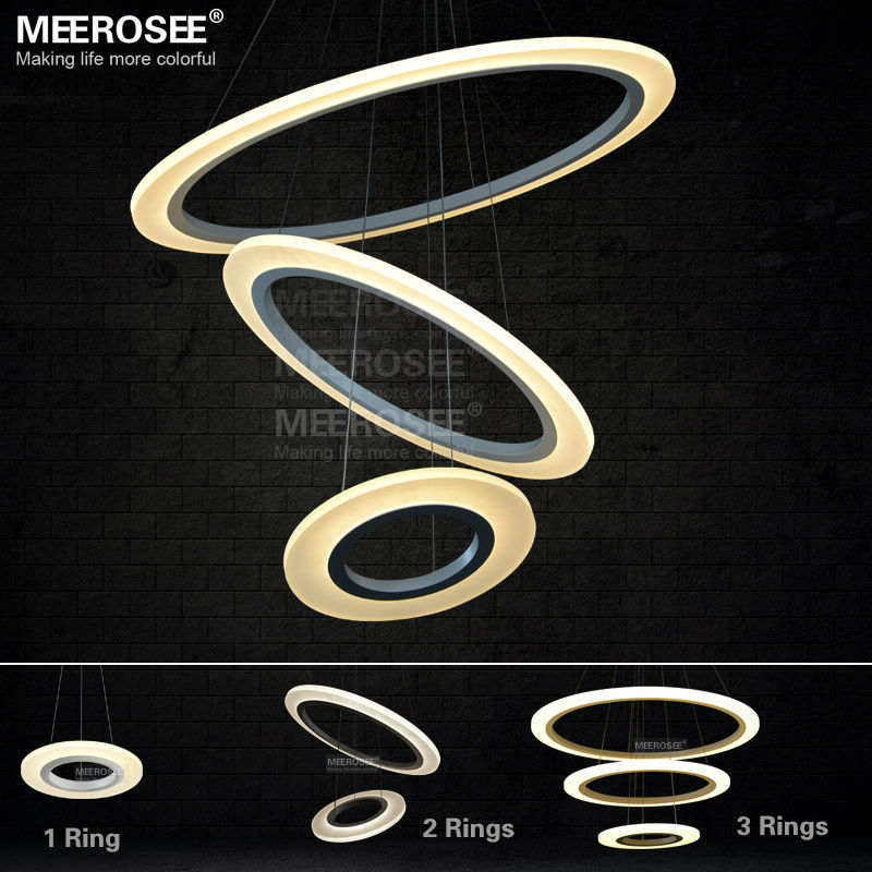 New Arrival Modern LED Chandelier Light / Lamp / Lighting Fixture LED Circle Ring Chandelier Lusters SMD5050 LED MD5057<br><br>Aliexpress