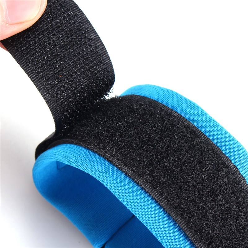 image for Blue PU&Stainless Steel Contraction Toddler Safety Harness Child Safty