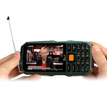 "DBEIF D2017 Antenna Analog TV 3.5"" handwriting touch screen 9800mAh flashlight power bank dual sim card FM mobile phone P291(China (Mainland))"