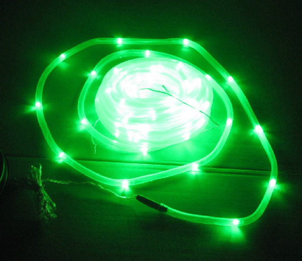 Green Holiday String Lights : Light control Waterproof 100LED solar tube lights green LED light string holiday lights-inSolar ...