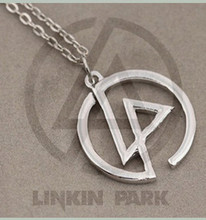 Sunshine jewlery store fashion Linkin Park sympal necklace