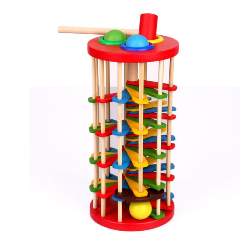 Wooden Plank Ladder Devils Tower ~ Rolling ball clock promotion shop for promotional