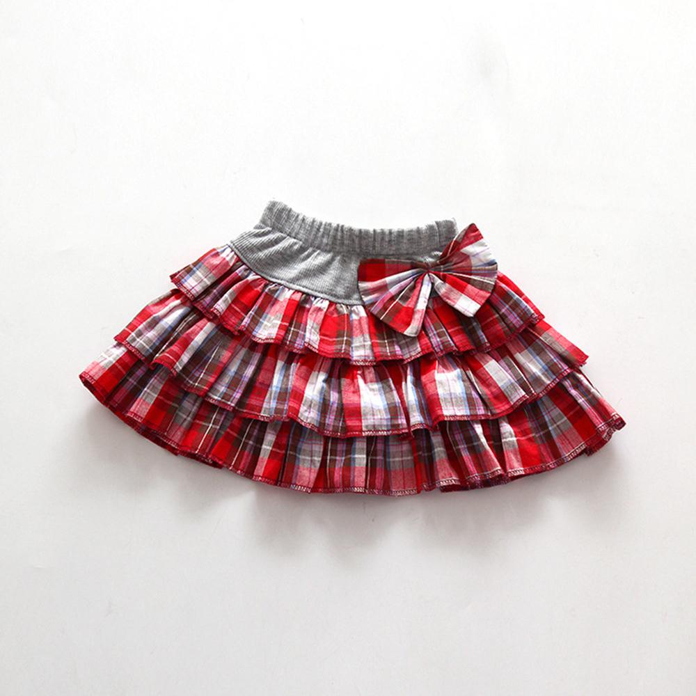 2016 Fashion Baby Girl Shirt 3-10Y Children Shirts For Girls Spring Summer Kids Clothing Bow Cotton Pleated Skirt<br><br>Aliexpress