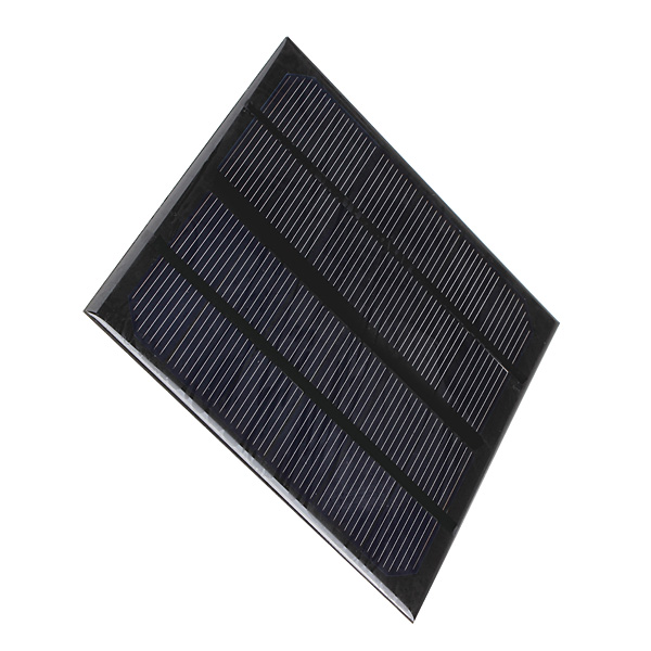 High quality 3W 6V Epoxy Solar Panels Mini Solar Cells Battery Batteries Polycrystalline Silicon Solar DIY Module 145x145x3mm(China (Mainland))