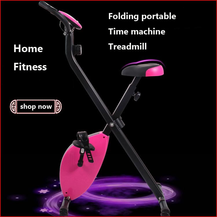 Fitness bicycle bicicleta estatica spinning bikePortable folding Treadmill Time Magnetic control with Time calories speed<br><br>Aliexpress