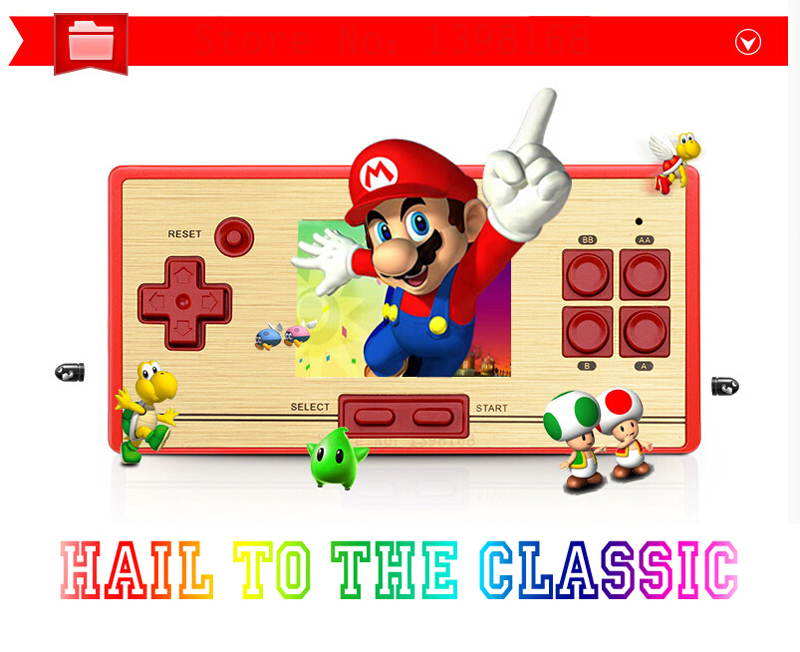 Classic games console / Retro NES games/ classic Nostalgic Handheld Game Player,video game console, 600 games Don't repeat !!!(China (Mainland))