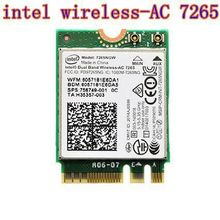 Intel 7265NGW Dual Band 2x2 Wireless AC + Bluetooth 4.0 M2 Interface Also Supports 802.11 AC-B/G/N(China (Mainland))