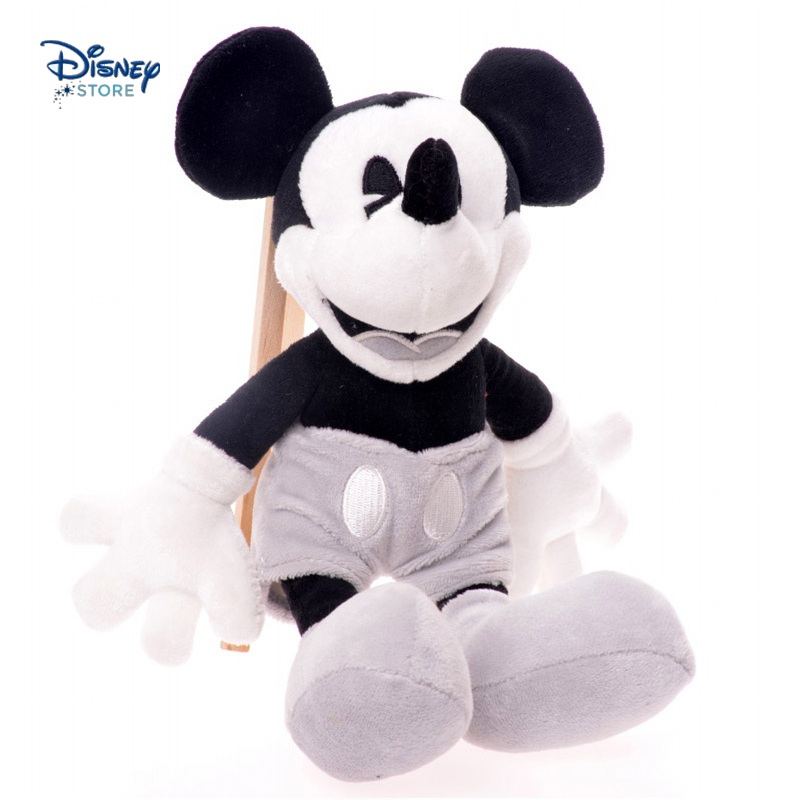 New Arrival Black White Vintage Mickey Mouse Animal Anime Cute Plush Toy Doll Birthday Christmas New Year Gift Collection(China (Mainland))